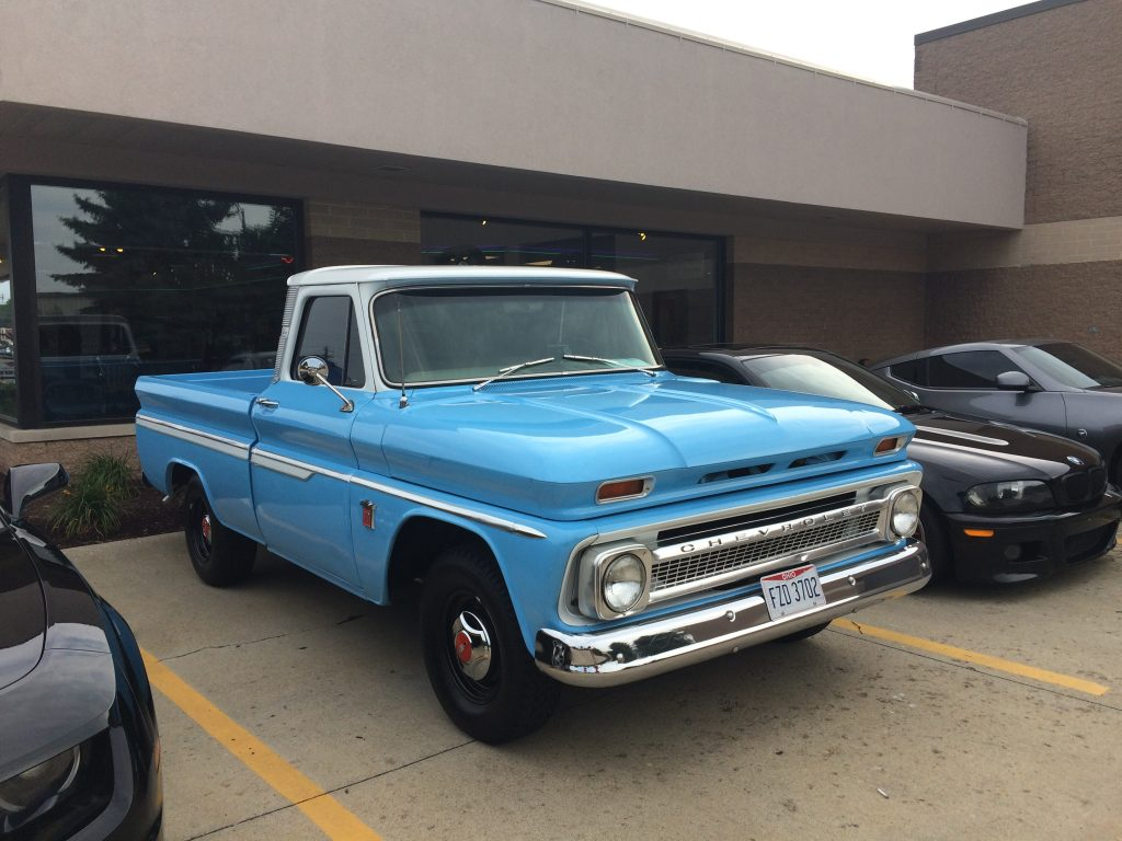 1964 Chevy C-10 - Light Blue