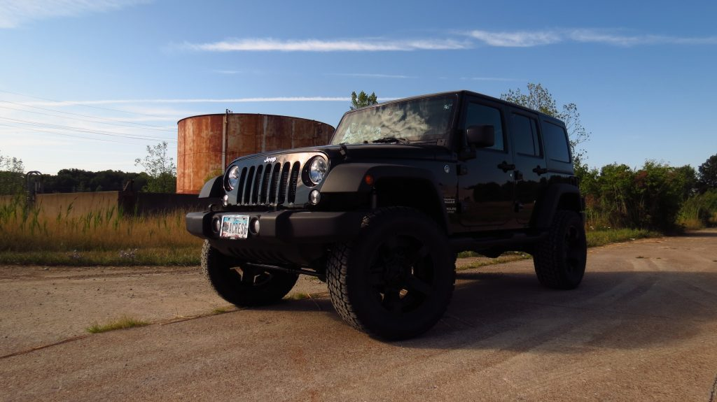 Black Jeep Wrangler Unlimited
