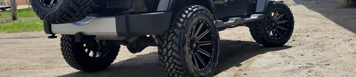 Jeep Tires with lift
