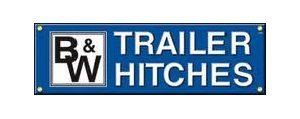 B&W Trailer hitches logo - truck accessories