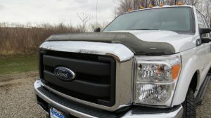 hood protector installation for pickup