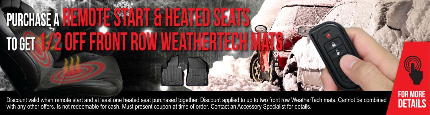 winter auto accessories custom graphic
