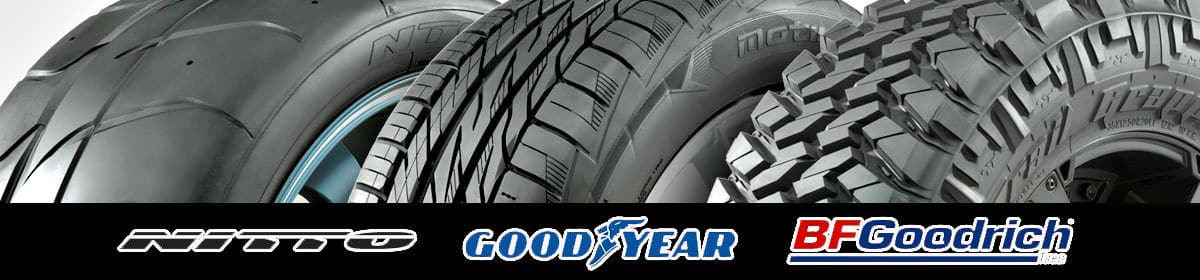 nitto good year and bf goodrich tires