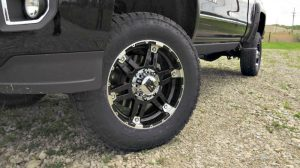 off road wheels and tires for truck accessories