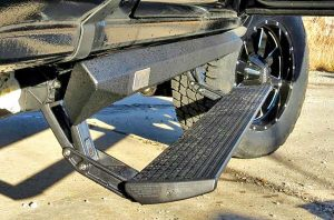 automatic running board