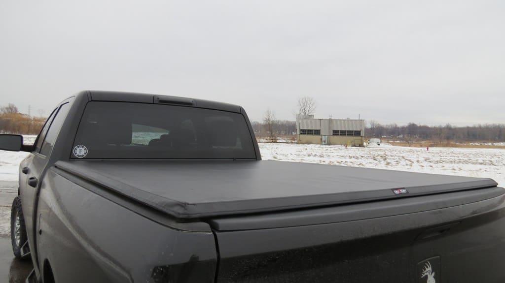 Tonneau Cover on a Dodge Ram