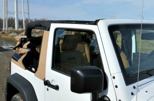 jeep electric convertible top
