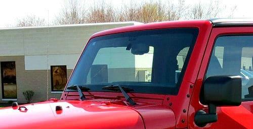 jeep before light installation