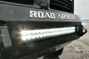 led light bar installation