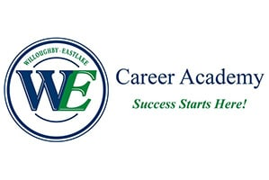 WE Career Academy Logo