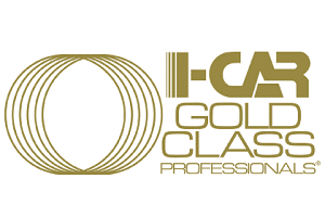 i car gold logo