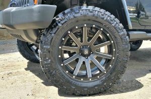 jeep wheels and tire installation for jeep