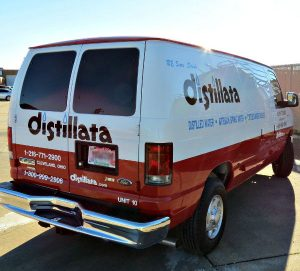 commercial van custom paint