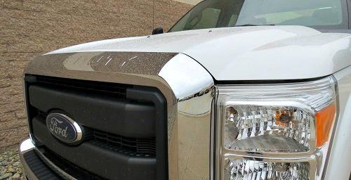 truck Hood Before