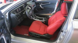 leather seat installation for car