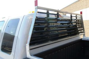 commercial back rack installation
