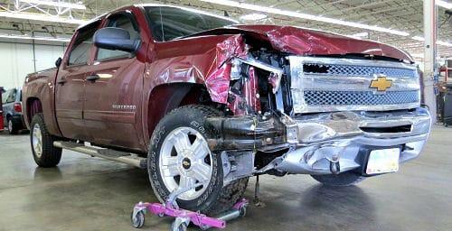 Chevy Silverado Wrecked