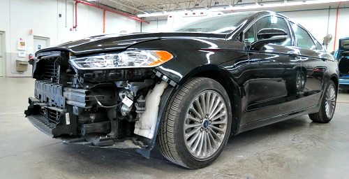 Ford Fusion Wrecked