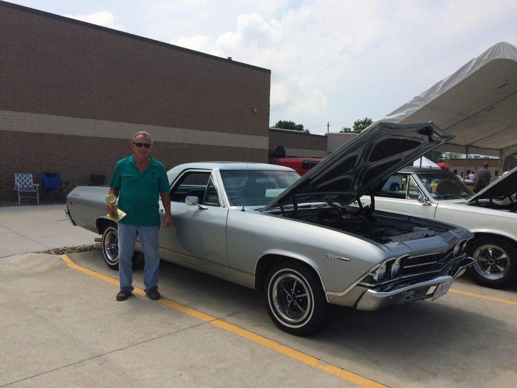 1969 Chevy El Camino - Silver
