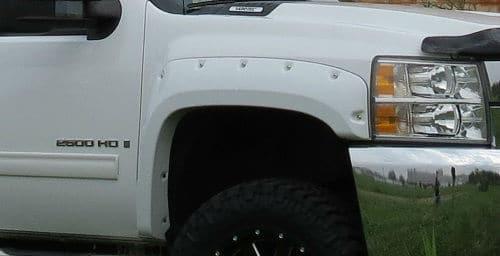 pocket style truck fender flare