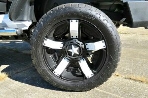 off road wheels and tires for jeep