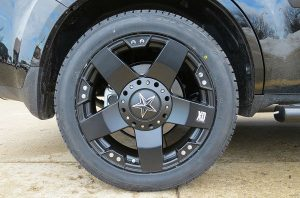 car rims installation