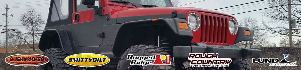 jeep fender flare brands