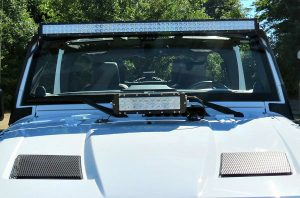 aftermarket light bar for jeep