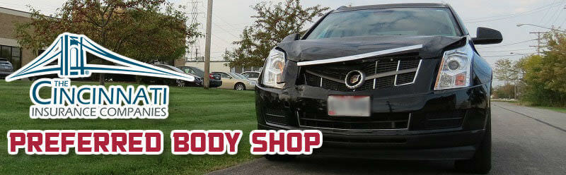 Cincinnati Insurance Body Shop | D&S Automotive