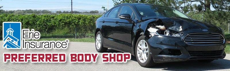 erie insurance auto body shop
