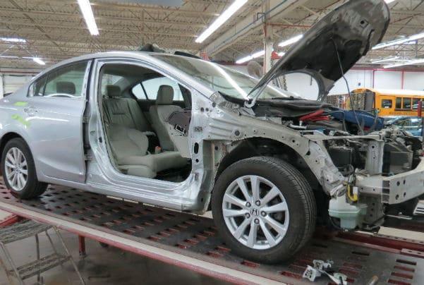 auto body repair process