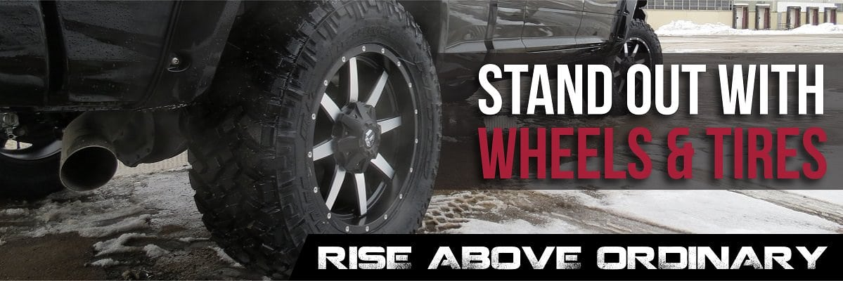 Stand Out with Wheels and Tires custom graphic