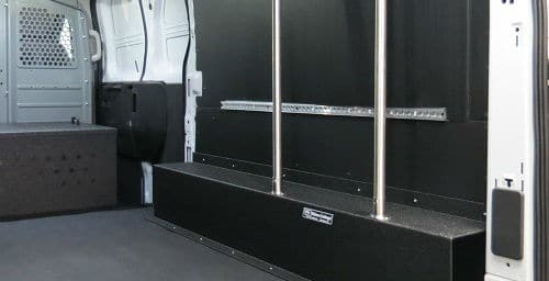 cargo van interior shelving build out