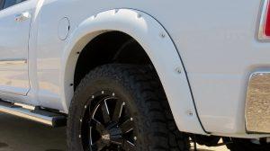 white truck fender flares