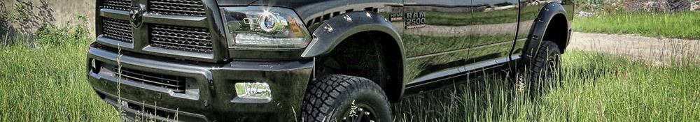Black Dodge Ram truck