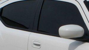 Window Tinted Car