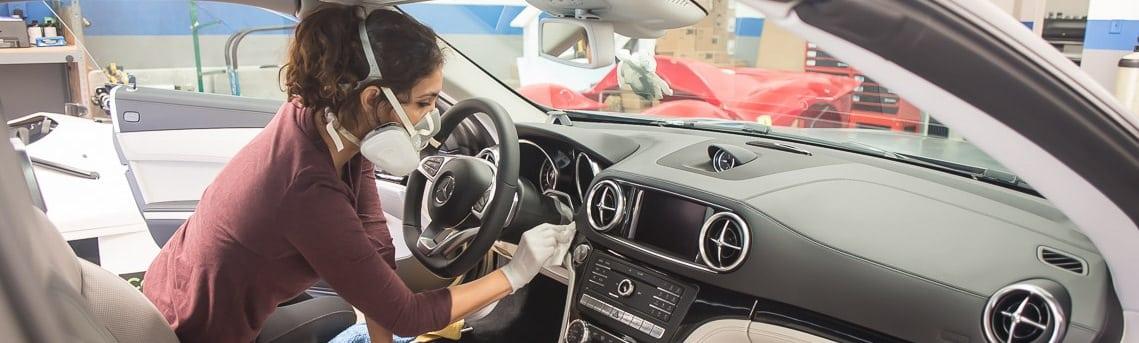 ceramic pro for interior of car