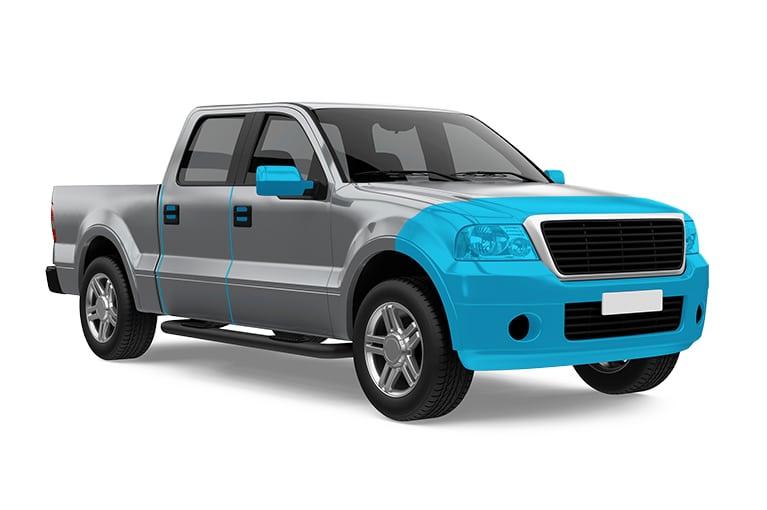 partial automotive paint protection film