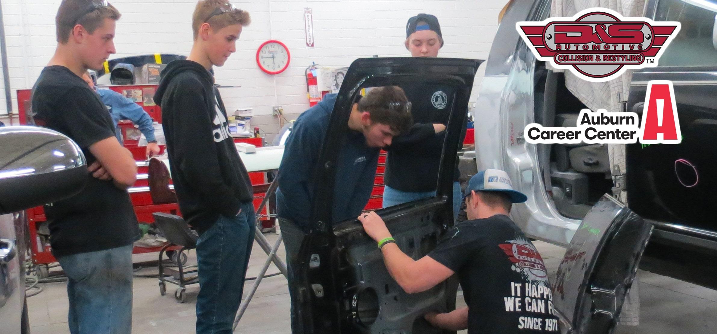 auto body student training